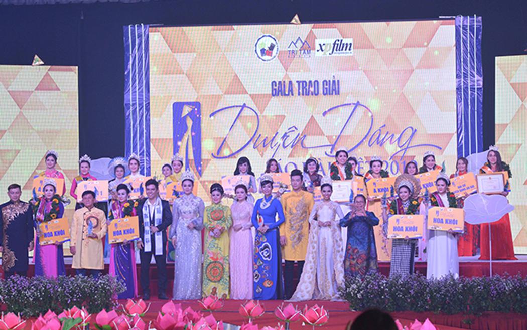 Duyên Dáng Áo Dài Việt 2019